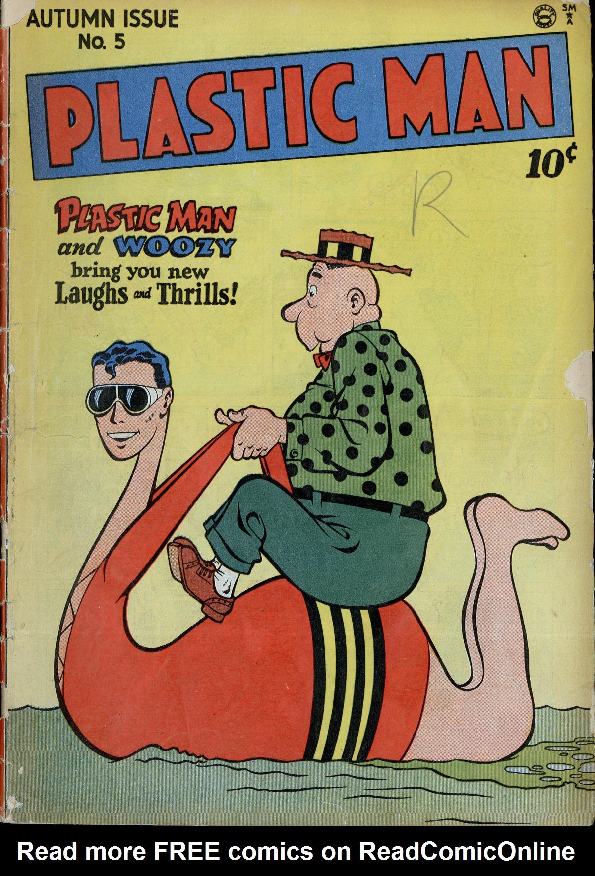 Plastic Man (1943) 5 Page 1