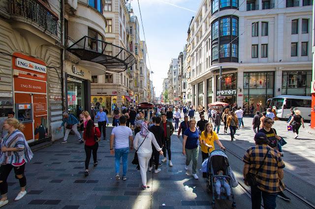 Istiklal caddesi-Istanbul