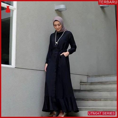 UTM047A54 Baju Aura Muslim Dress UTM047A54 02F | Terbaru BMGShop