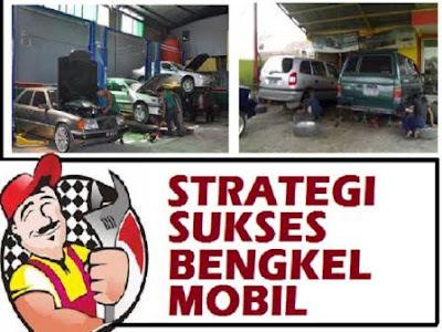taktik strategi menjalankan usaha jasa servis kendaraan