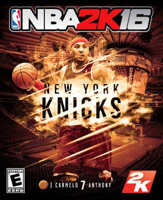NBA 2K16 Custom Covers - New York Knicks