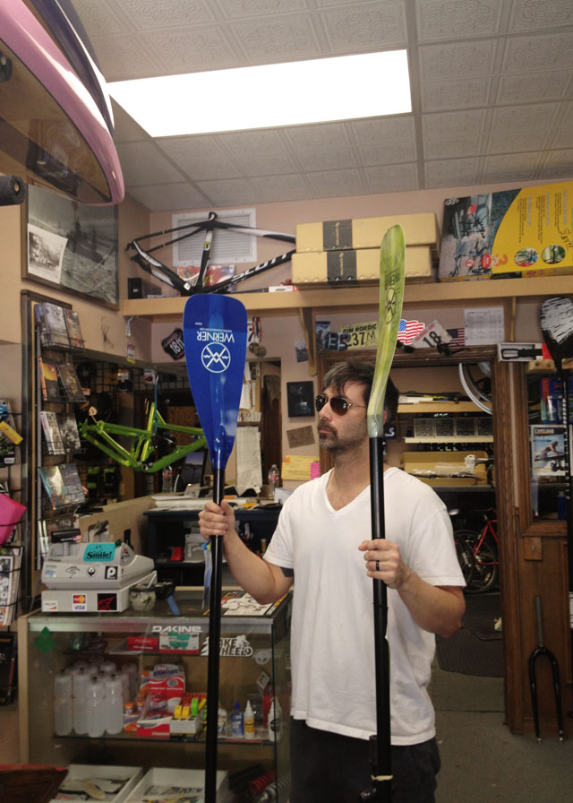 stand up paddle board shopping