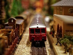 鉄道模型(素材)