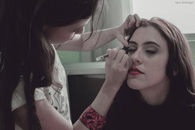 iana domingos foto red maquiagem jackysimionato