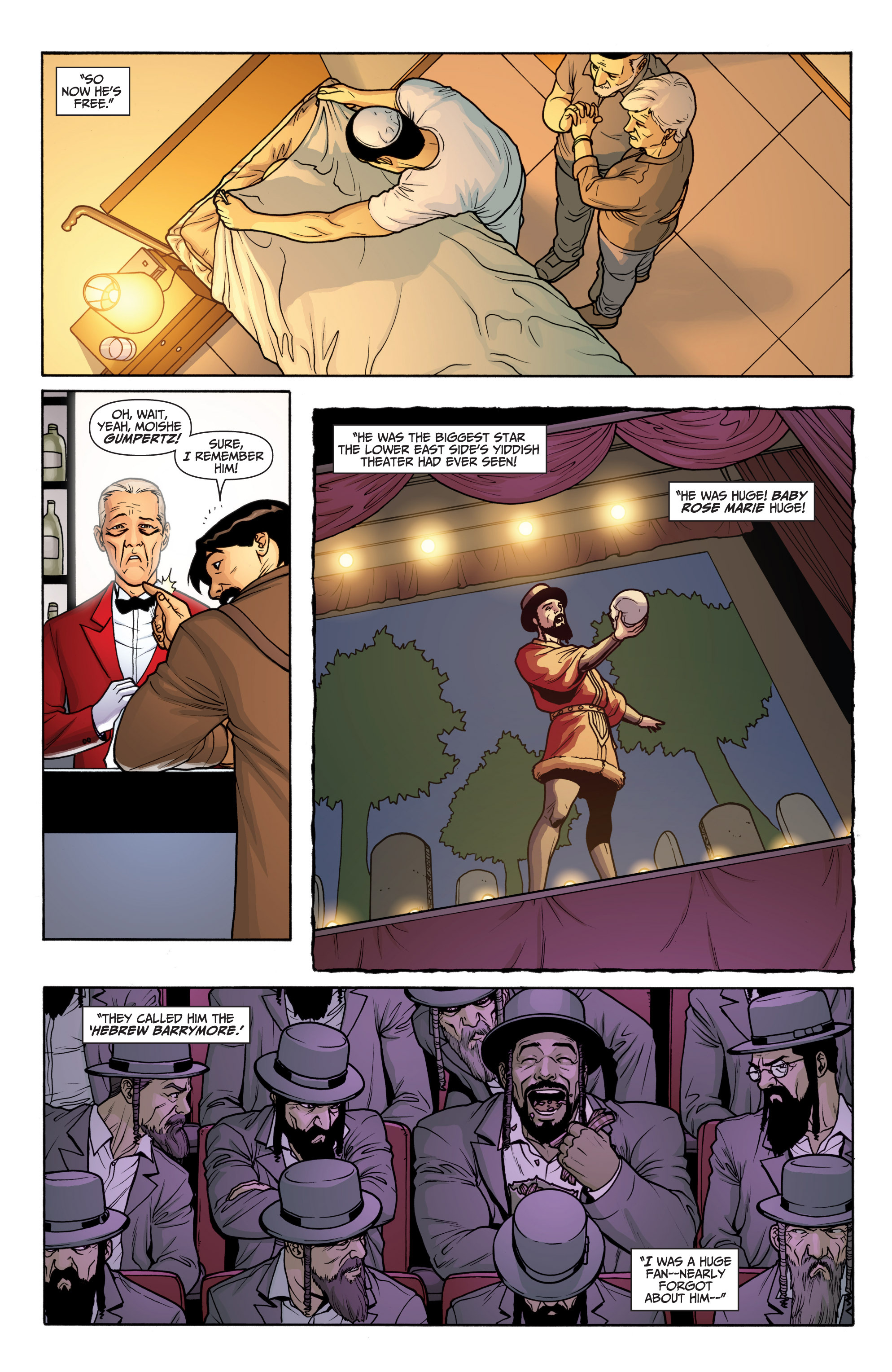 Read online Archer and Armstrong comic -  Issue #Archer and Armstrong _TPB 6 - 35