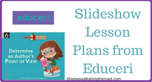 Slideshow lesson plans from Educeri