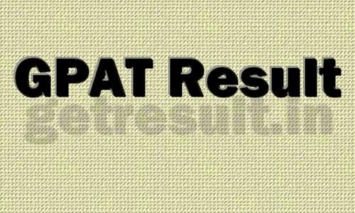 GPAT Result 2015 Name Wise Merit List Online