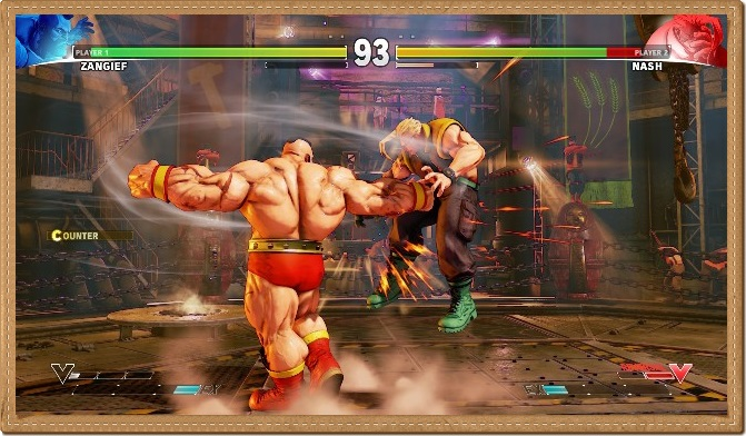 Street Fighter 5 PC Games Gameplay