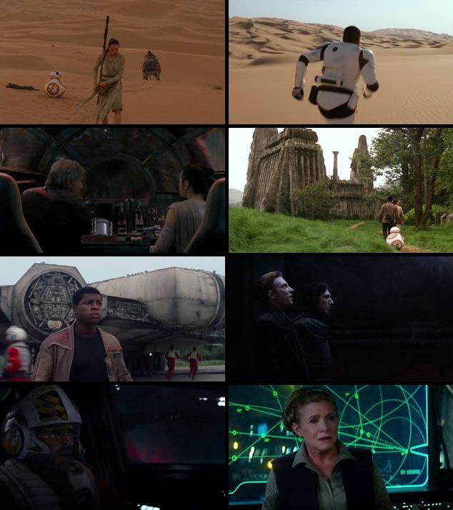 Star Wars The Force Awakens 2015 Dual Audio Hindi 480p BluRay