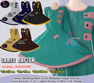 Jual gamis balotelli dua warna terbaru harga lebih murah lagi