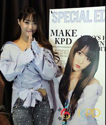 Wih, Danbi Si gadis Cantik Dari Korea ini Bakal Jadi Artis Dangdut di Indonesia