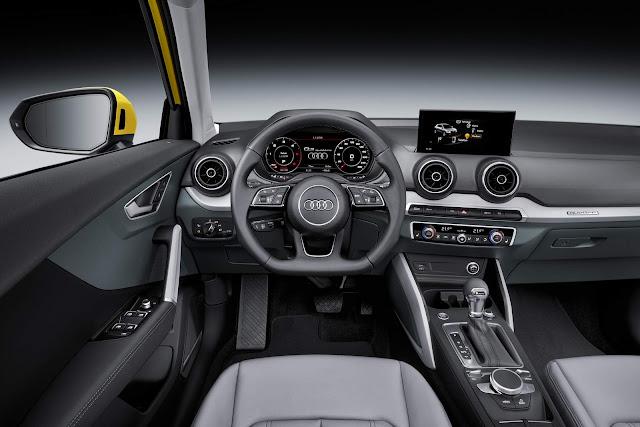 Novo Audi Q2 2017 - interior