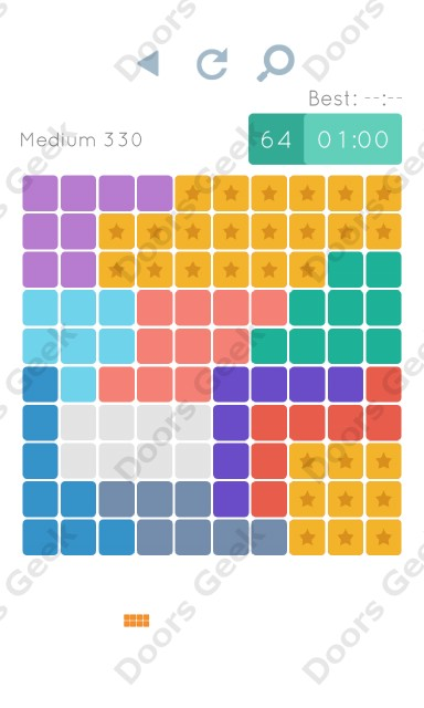 Cheats, Walkthrough for Blocks and Shapes Medium Level 330