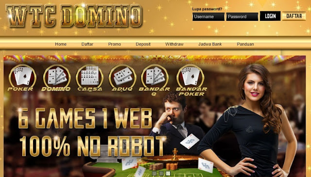 WTCDomino.com Agen Judi Domino BandarQ Terpercaya Indonesia