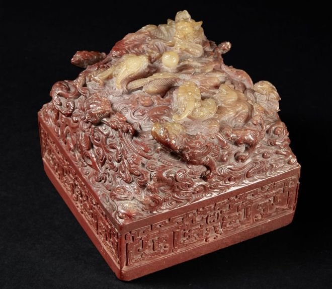 Chinese imperial seal sold for record $22m at auction