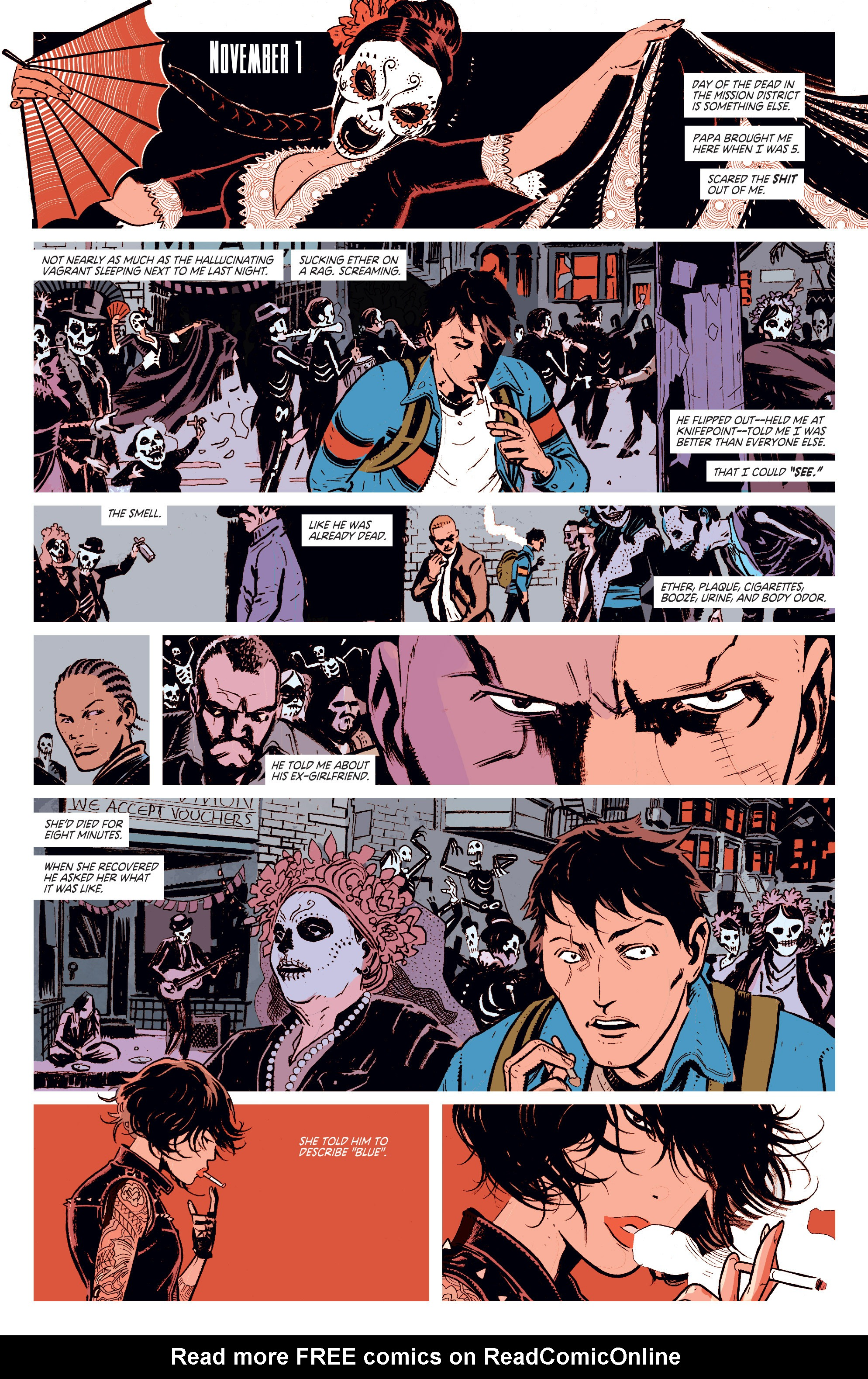 Read online Deadly Class comic -  Issue #1 - 11