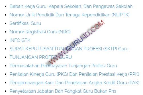 gambar Daftar Tanya Jawab Seputar Pembinaan Guru