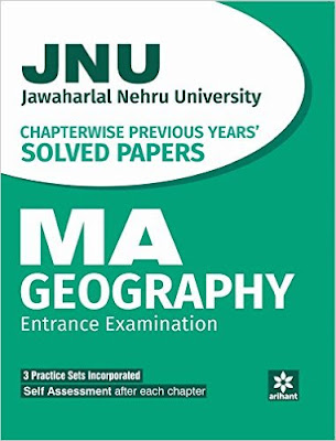 Download Free books PDF for JNU MA Geography Entrance Exam