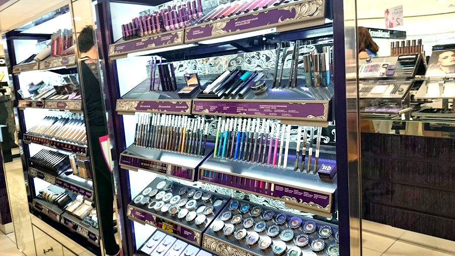 Urban Decay, Debenhams Beauty Hall, Foyleside Derry, Beauty Blog, Northern Ireland