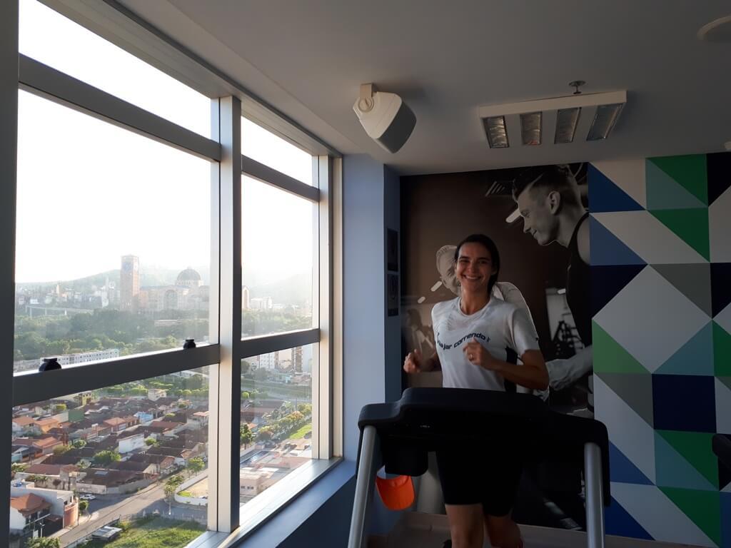 Academia do Hotel Rainha do Brasil