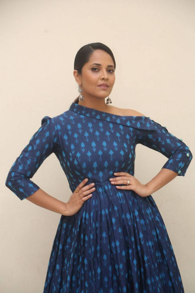 Anasuya At Jai Lava Kusa Movie Theatrical Trailer Launch Stills