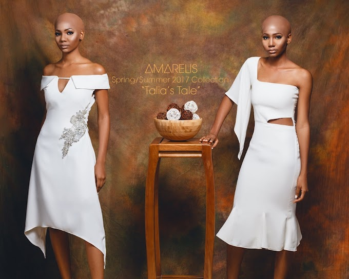 Amarelis Atelier Releases Its Spring/Summer 2017 Capsule Collection, Titled 'Talia's Tale'