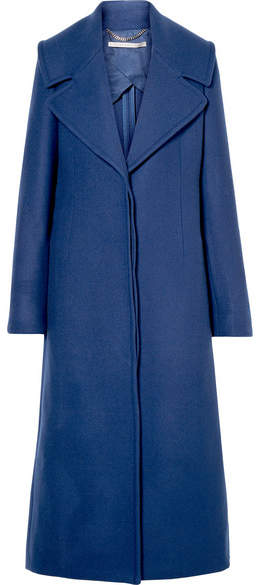 Stella McCartney - Wool-twill Coat – Blue