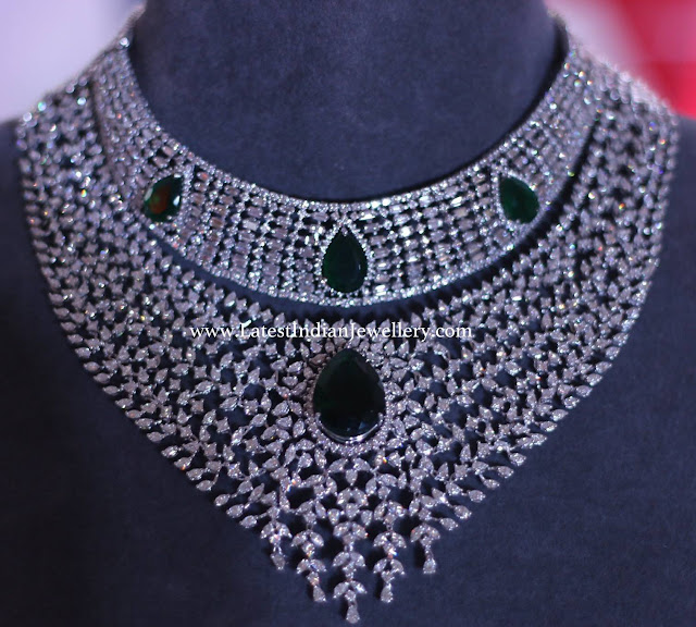 Tanishq 85 Lakhs Diamond Necklace