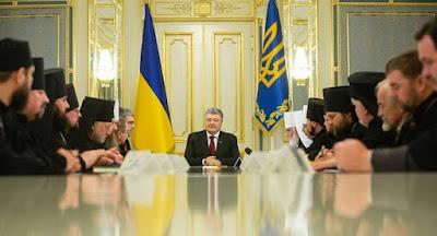 Порошенко продавлюєстворення українськоїавтокефальної церкви