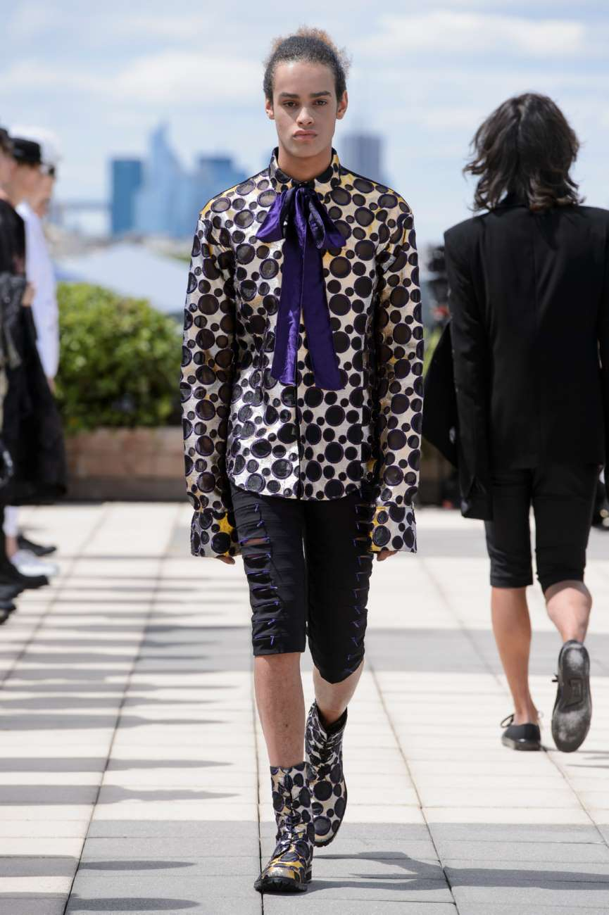 Ryunshu Spring Summer 2018 Paris Fashion Week Male Fashion Trends