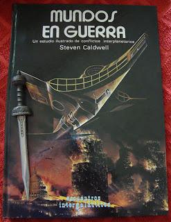 Portada del libro Mundos en guerra, de Steven Caldwell