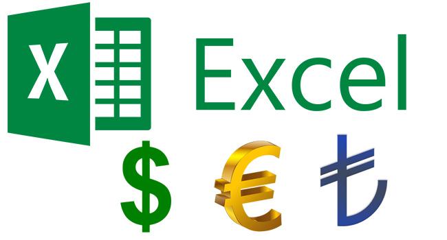 Excel Hücrelerde Farklı Para Birim Simgesi Nasıl Kullanılır