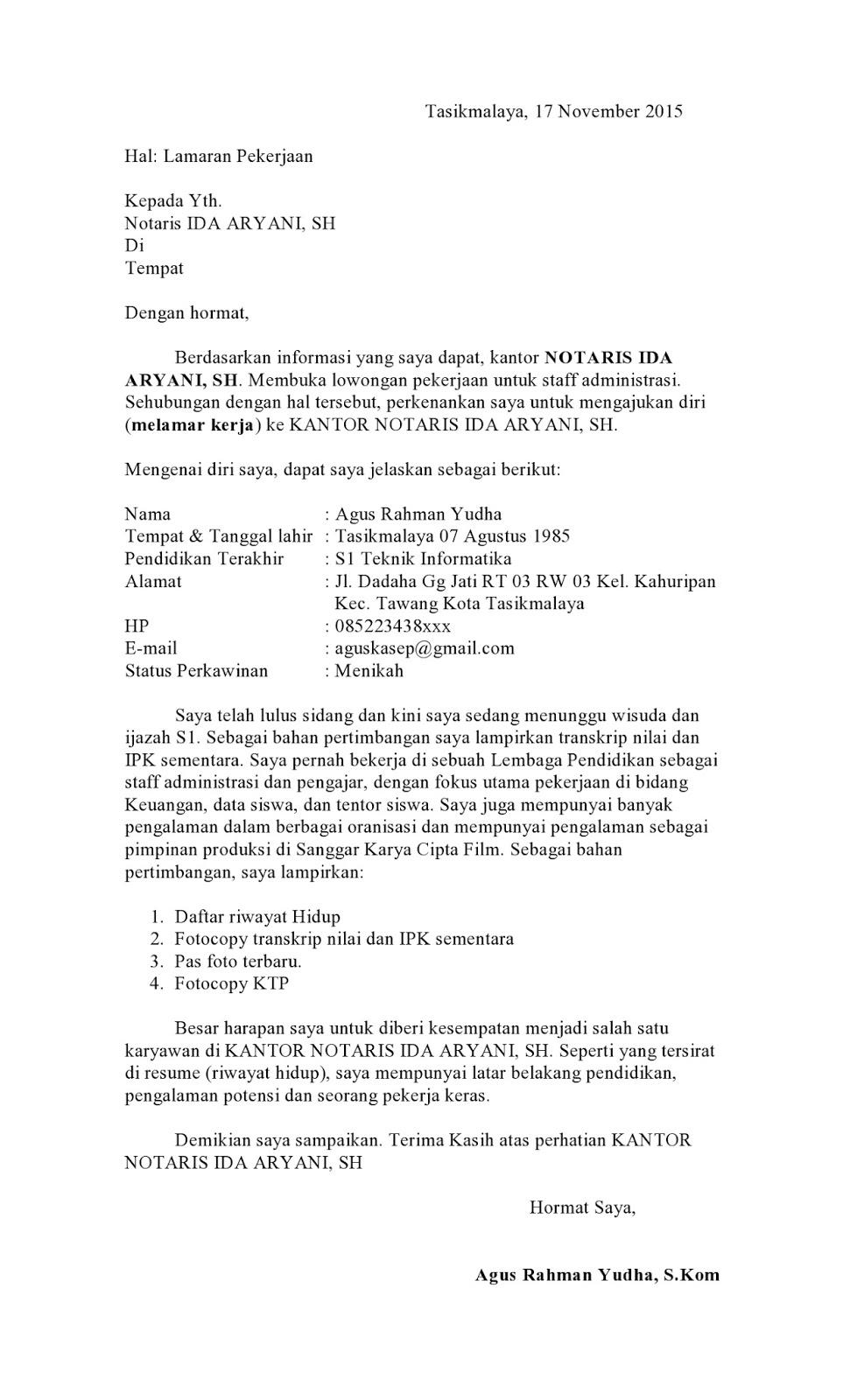 contoh surat lamaran kerja di ppat, contoh surat pengalaman kerja di kantor notaris, cara melamar kerja di kantor notaris, contoh surat lamaran magang di kantor notaris, lowongan kerja kantor notaris, contoh surat keterangan magang di kantor notaris, contoh surat magang notaris, contoh surat lamaran kerja di kantor pengacara, susan-jobs.blogspot.com
