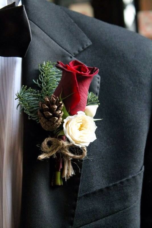 Winter & Fall Buttonhole Inspiration...