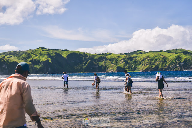 Beautiful scenery in Batanes Basco Beach