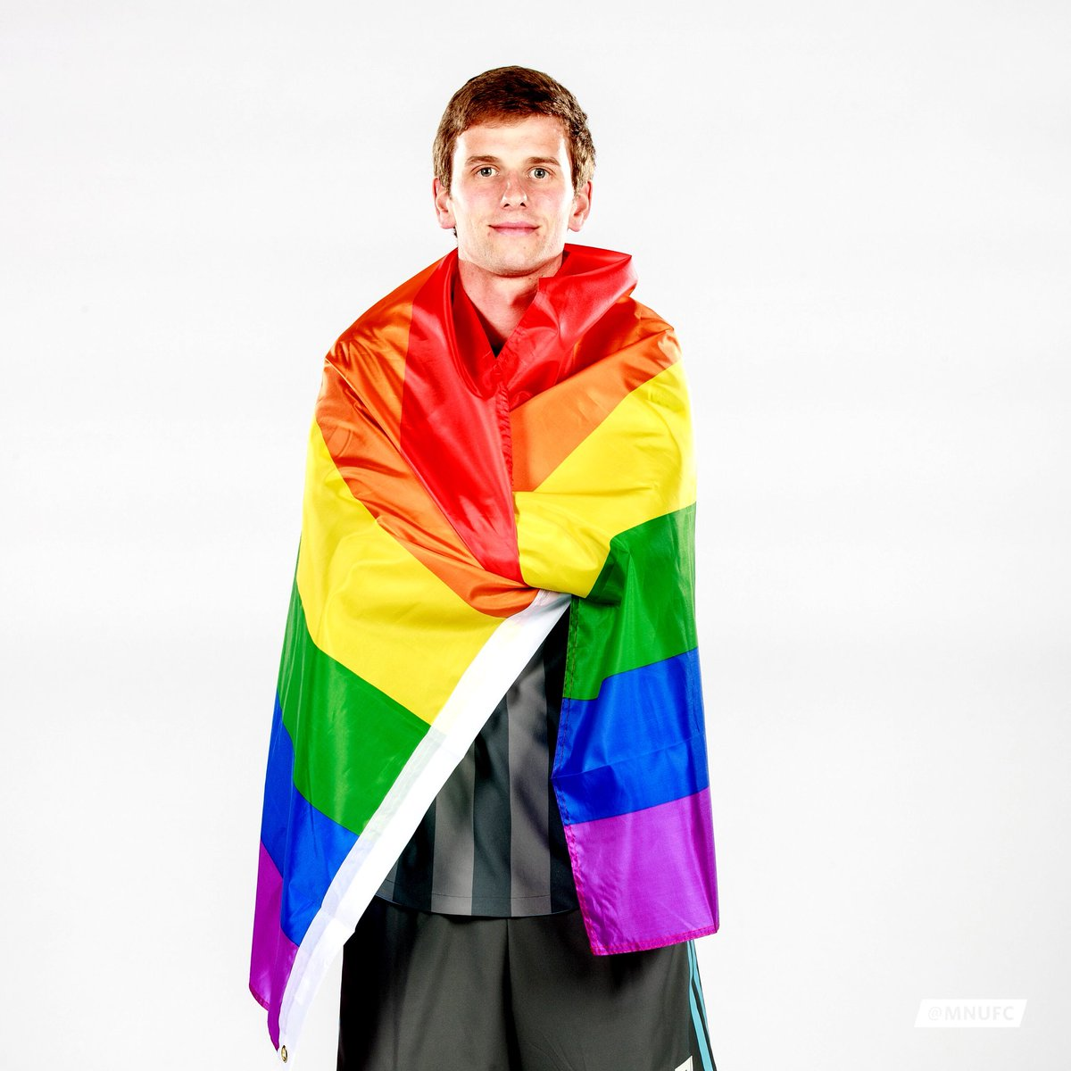 Collin Martin is the only male active openly gay player in professional US sports