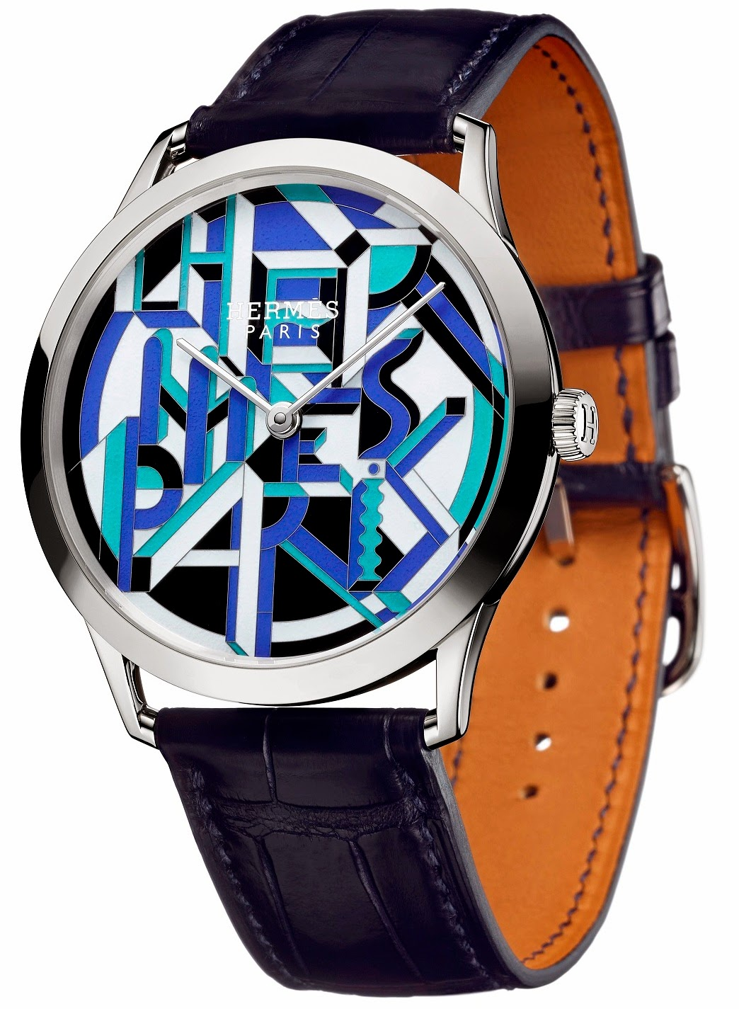 Hermès - Slim d'Hermès Perspective Cavalière watch