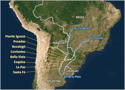 Paraná – Río de la Plata, South America