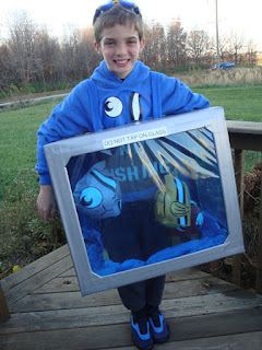 fish tank aquarium halloween costume costumes idea