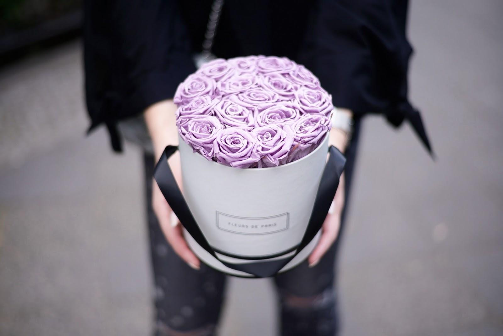 fleurs de paris infinity roses