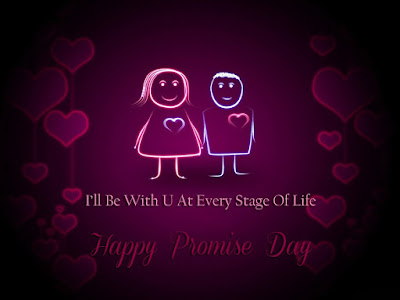 Ill Be With You At Every Stage Of Life Happy Promise Day - Happy Valentines day 2018 SMS, Wishes, Quotes, Wallpaper, Images,Shayari,Messages