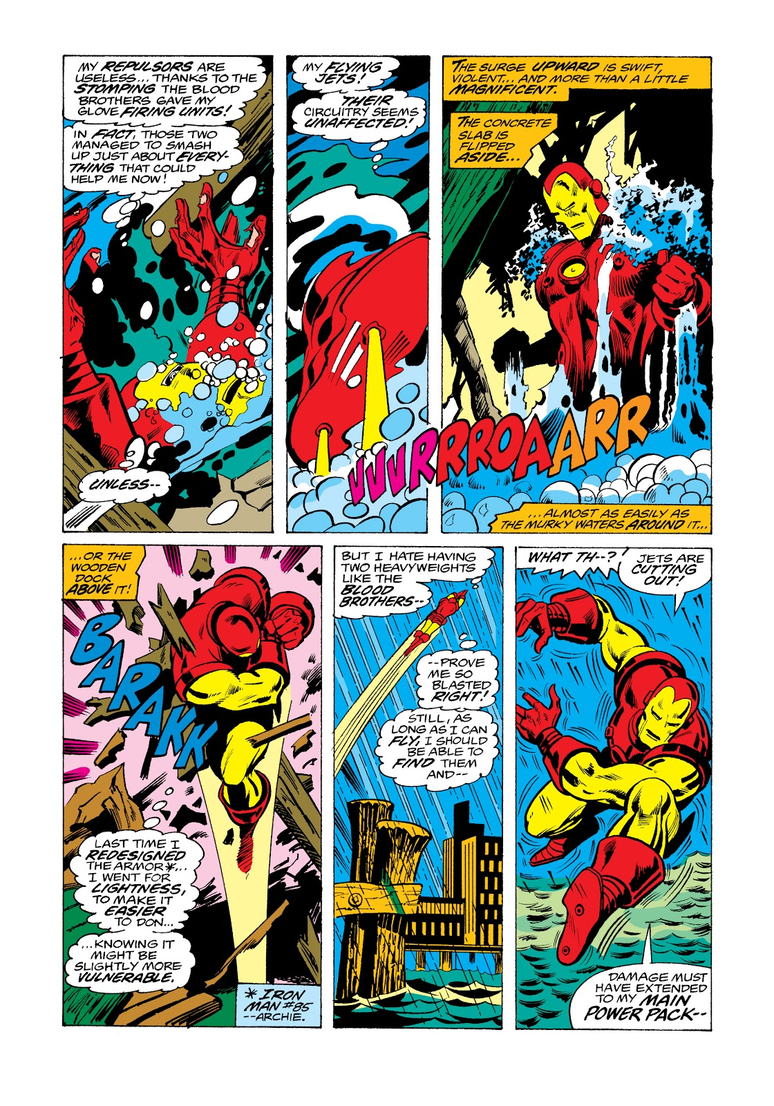 Read online Marvel Masterworks: The Invincible Iron Man comic -  Issue # TPB 11 (Part 2) - 77