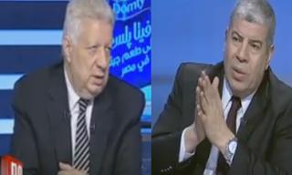 شوبير و مرتضى منصور