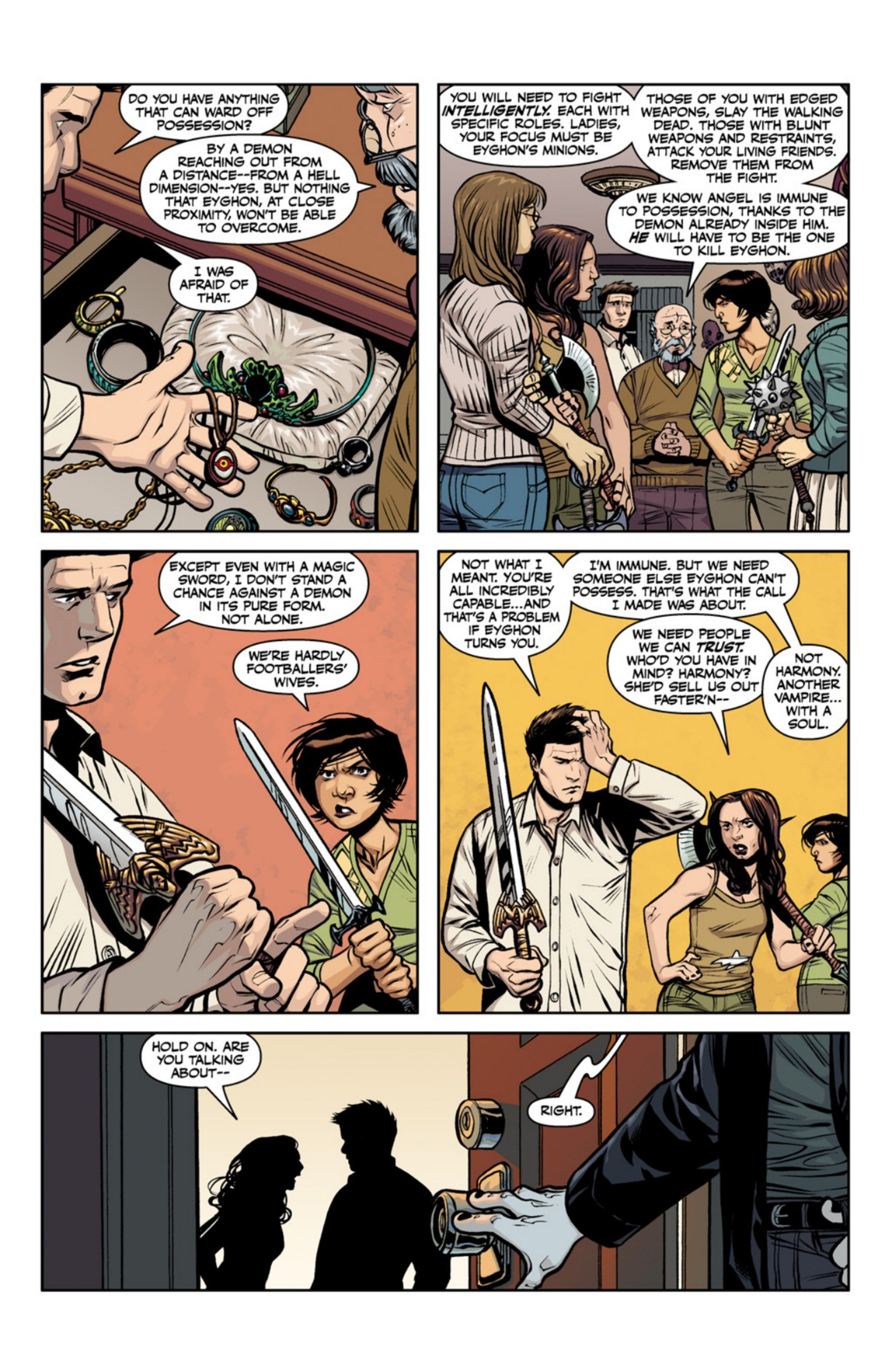 Read online Angel and Faith comic -  Issue #18 - 25