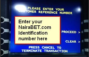 credit nairabet account via atm