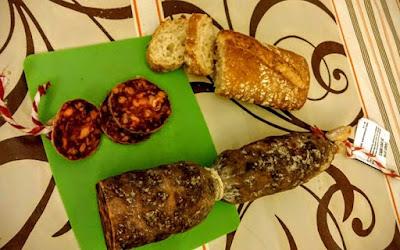 Foto del espectacular Chorizo Ibérico