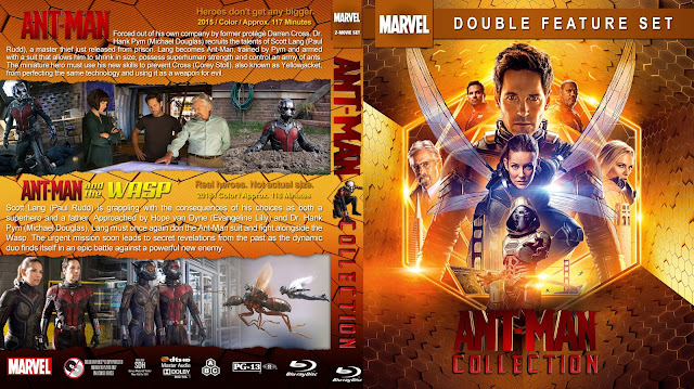 Ant-Man Collection Bluray Cover