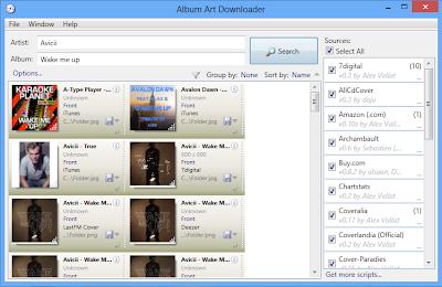 Songr e Album Art Downloader