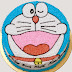 Bánh kem vẽ hình Doremon - bánh mừng sinh nhật vừa ngon vừa độc đáo