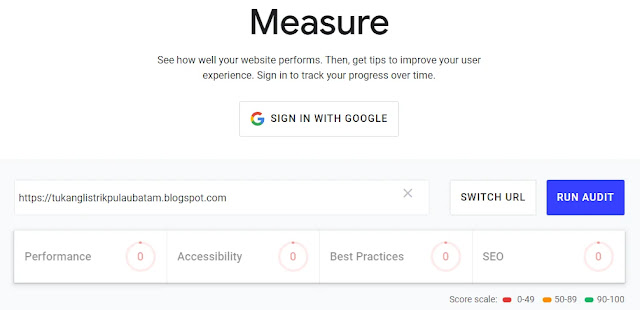 Measure - Audit Your Site